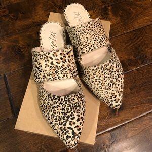 Matisse Leopard Mules